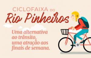 Ciclofaixa Rio Pinheiros aumenta o número de ciclistas no espaço urbano