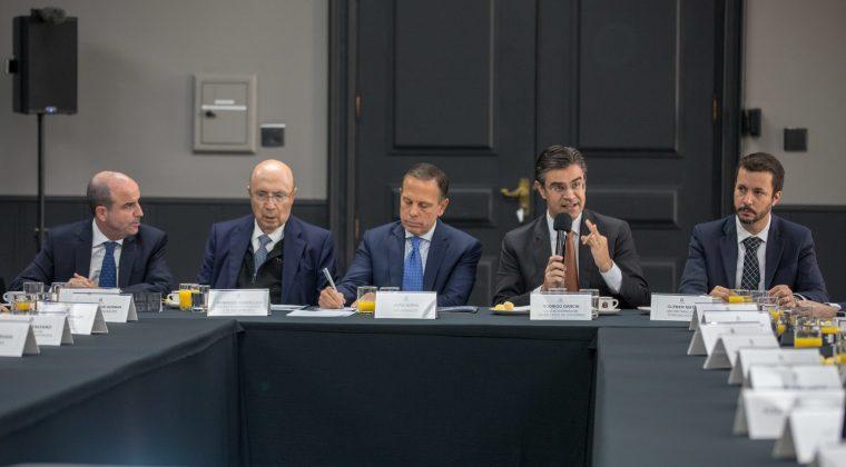 Governo de São Paulo se reúne com jornalistas estrangeiros