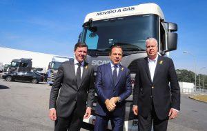 Governo de SP participa de anúncio de R$ 1,4 bi em investimento da Scania
