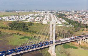 Governo de SP entrega 50 ônibus novos para região de Campinas