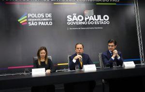 Governo Paulista anuncia 11 polos de desenvolvimento econômico