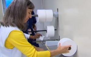 Fiscais do Ipem-SP autuam fabricantes de papel higiênico