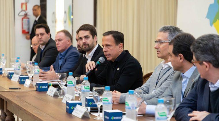Governo de São Paulo participa de encontro do Cosud no Rio Grande do Sul