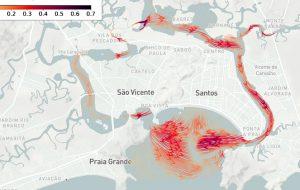 USP lança sistema on-line gratuito para prever comportamento do mar