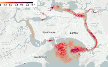 USP lança sistema on-line para prever comportamento do mar