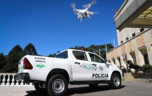 SP entrega 18 drones e libera compra de 141 veículos para PM Ambiental