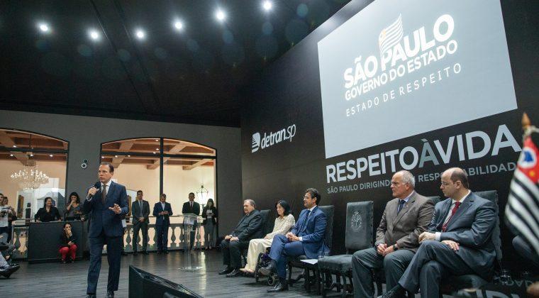 Governo de São Paulo anuncia novas ações de segurança e de educação no trânsito