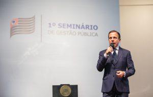 Governo de SP promove 1º Seminário de Gestão Pública