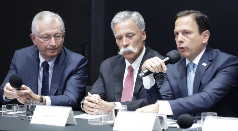 Governo de São Paulo se reúne com promotores da Fórmula 1