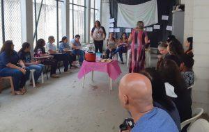 Fundação Casa de São Vicente recebe palestra sobre CIC
