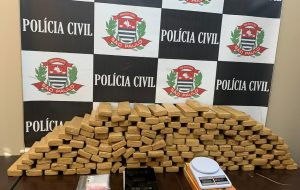 CPJ de Americana apreende 75 quilogramas de drogas