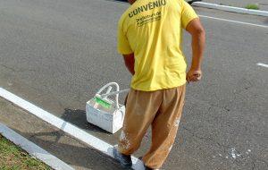 Reeducandos trabalham em obras em Pindamonhangaba