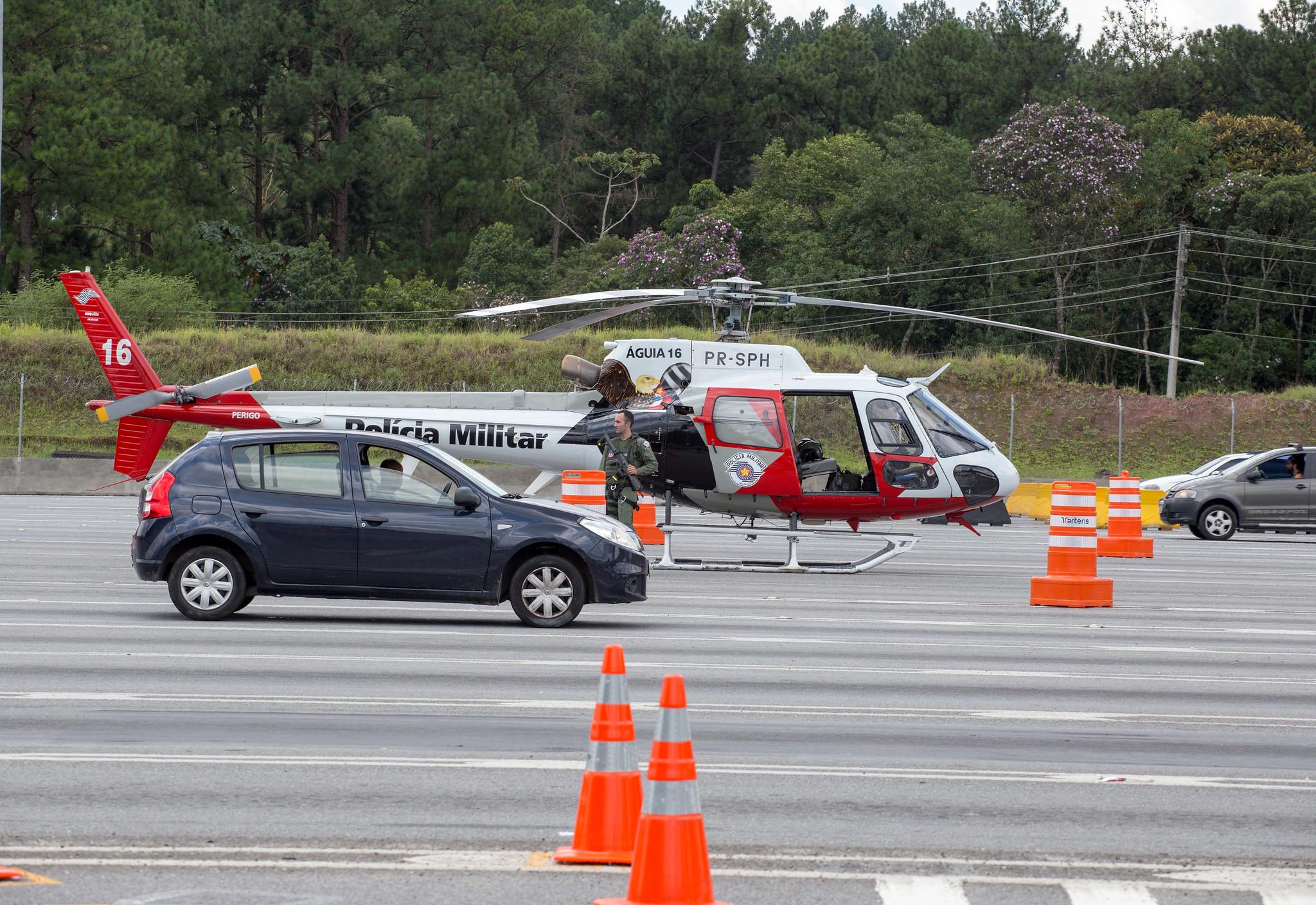 Operação Rodovia Mais Segura detém 305 pessoas em São Paulo