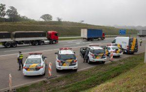 Operação Rodovia Mais Segura detém 187 pessoas e recupera 41 veículos