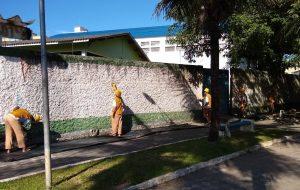 60 mil presos trabalham em São Paulo em obras de manutenção