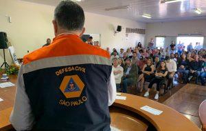Defesa Civil do Estado realiza oficinas preparatórias para temporada de chuvas