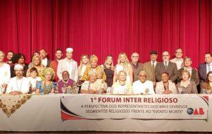 Em Osasco, Fórum Inter-religioso prestigia evento sobre liberdade