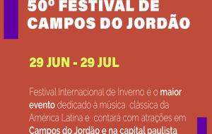 Festival de Campos do Jordão tem programação pop em 2019