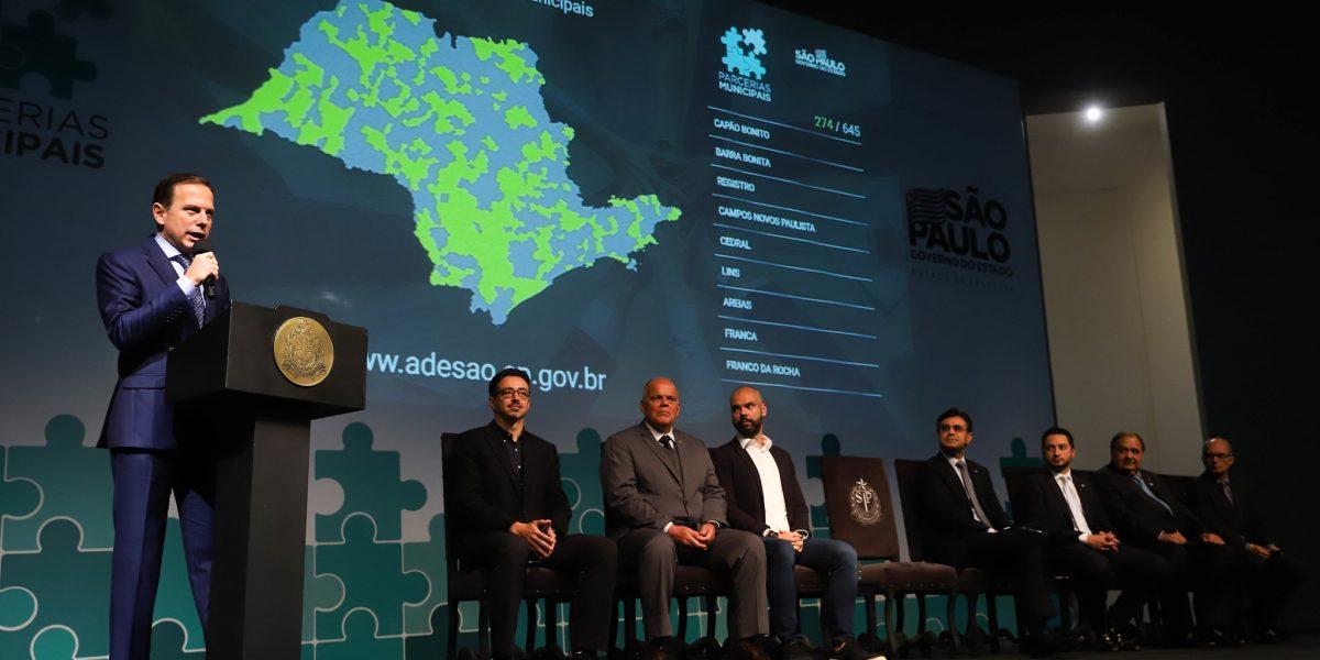 Governo do Estado firma parceria com municípios paulistas para alavancar indicadores sociais