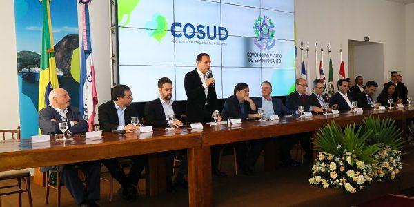 Governo do Estado participa de reunião do Cosud em Vitória