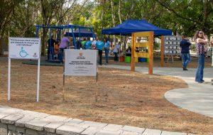 Governo entrega primeira área verde revitalizada pelo programa SP + Bonito