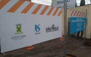 Sabesp inicia obra que vai levar água a 17 mil moradores de Santo André