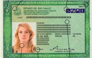 Estado de São Paulo passará a emitir novo RG