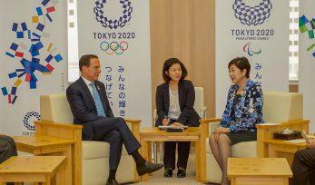 Reunião com Governadora de Tóquio