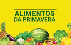 Na primavera, priorize frutos e legumes da estação