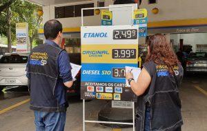 Procon-SP: Setor de postos de combustíveis lidera ranking de multas aplicadas em 2019