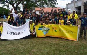 Alunos e professores da Unesp integram ações do Projeto Rondon 2019