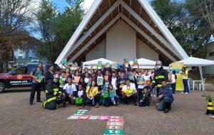 Jovens de Campos do Jordão participam de atividade sobre prevenção de incêndios