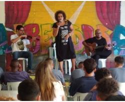 Graça Cunha canta na Fundação Casa do Belém
