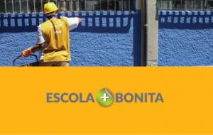 Escola + Bonita revitaliza unidades de ensino no Estado