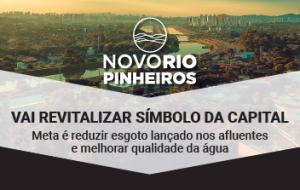 Objetivo do Novo Rio Pinheiros é revitalizar símbolo da capital