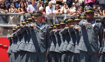 Formatura de sargentos da PM
