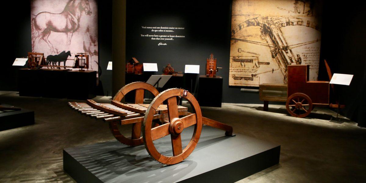 Nas primeiras 3 semanas, 64,5 mil pessoas visitam exposição sobre Leonardo da Vinci no MIS Experience