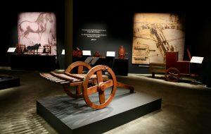 Exposição sobre Da Vinci atrai mais de 300 caravanas