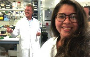 Bolsista da Fapesp realiza estágio com ganhador do Prêmio Nobel de Medicina