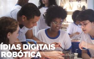 Campanha mostra modernização da educação em São Paulo