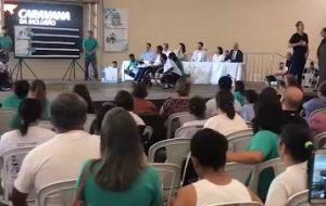 Atividades da Caravana da Inclusão chegam ao município de Itanhaém