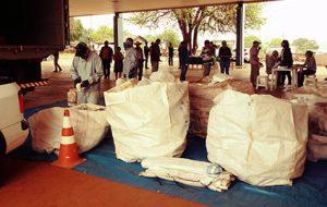 Produtores realizam coleta itinerante de embalagens vazias em Arealva