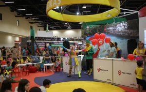 Capital paulista recebe atrações de evento voltado ao público infantil