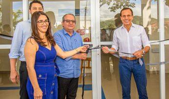 Entrega de Unidade Básica de Saúde em Iguape