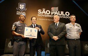 Policiais nota 10 do Estado de SP são homenageados