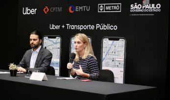 Integração entre transporte público e Uber