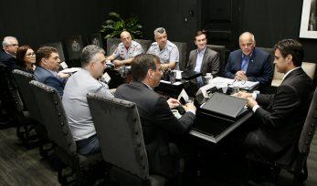Reunião do Conselho de Segurança Pública