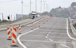 Governo de SP entrega 1⁰ viaduto do pacote de obras do projeto Nova Entrada de Santos