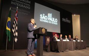 Palácio dos Bandeirantes recebe fórum sobre segurança pública e digital