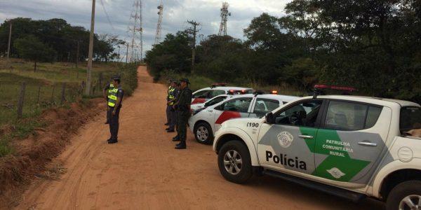 Operação Interior Mais Seguro detém 189 e recupera 37 veículos